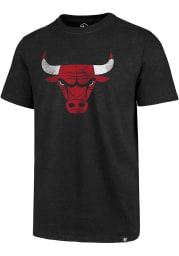 47 Chicago Bulls Black Imprint Club Short Sleeve T Shirt
