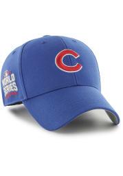 47 Chicago Cubs 2016 World Series Side Patch MVP Adjustable Hat - Blue