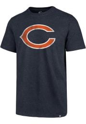 47 Chicago Bears Navy Blue Imprint Club Short Sleeve T Shirt