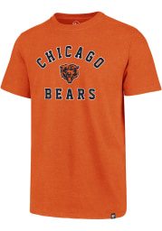 47 Chicago Bears Orange Varsity Arch Club Short Sleeve T Shirt