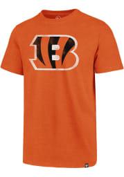 47 Cincinnati Bengals Orange Imprint Club Short Sleeve T Shirt