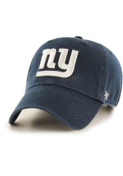 47 New York Giants Clean Up Adjustable Hat - Navy Blue
