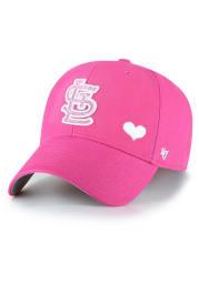 47 St Louis Cardinals Pink Sugar Sweet MVP Youth Adjustable Hat