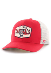 47 St Louis Cardinals Red Shumay MVP Youth Adjustable Hat