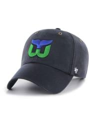 47 Hartford Whalers Carhartt Clean Up Adjustable Hat - Navy Blue
