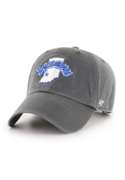 47 Indiana State Sycamores Clean Up Adjustable Hat - Charcoal
