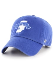 47 Indiana State Sycamores Clean Up Adjustable Hat - Blue