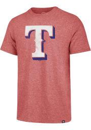 47 Texas Rangers Red Match Short Sleeve Fashion T Shirt