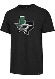 47 Dallas Stars Black Match Short Sleeve Fashion T Shirt