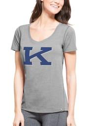 47 Kentucky Wildcats Womens Grey High Point Tee SS Athleisure Tee