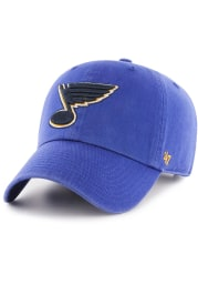 '47 St Louis Blues Blue Clean Up Youth Adjustable Hat