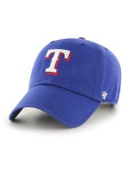 47 Texas Rangers Blue Clean Up Adjustable Toddler Hat