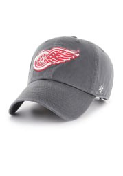 47 Detroit Red Wings Charcoal Clean Up Adjustable Toddler Hat