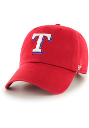 47 Texas Rangers Baby Clean Up Adjustable Hat - Red