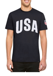 47 Team USA Navy Blue Arch Short SLeeve Fashion T Shirt