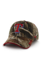 47 Texas Rangers RealTree Frost MVP Adjustable Hat - Green