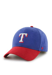 Texas Rangers Blue Short Stack Youth Adjustable Hat