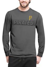 47 Pittsburgh Pirates Black Forward Long Sleeve T-Shirt