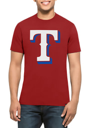 47 Texas Rangers Red Splitter Short Sleeve T Shirt