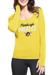 47 Pittsburgh Pirates Womens Gold Forward Athleisure Tee
