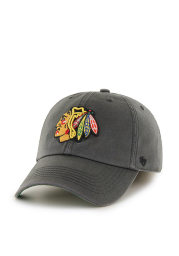 47 Chicago Blackhawks Mens Charcoal Franchise Fitted Hat