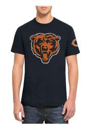47 Chicago Bears Navy Blue Two Peat Short Sleeve Fashion T Shirt