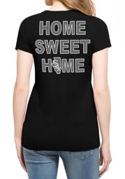 47 Chicago White Sox Womens Black MVP Club Scoop T-Shirt