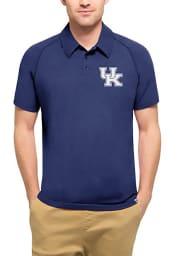 47 Kentucky Wildcats Mens Blue Forward Short Sleeve Polo