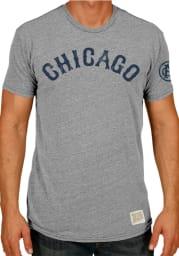 Original Retro Brand Chicago Giants Short Sleeve Tri-Blend Vintage T Shirt