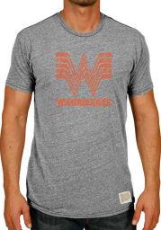 Original Retro Brand Whataburger Grey Logo Short Sleeve T Shirt