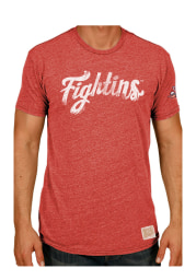 Original Retro Brand Reading Fightin Phils Red Tri-Blend Short Sleeve Fashion T Shirt