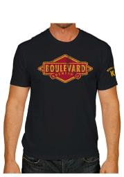 Original Retro Brand Boulevard Black Logo Short Sleeve T Shirt