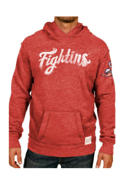Original Retro Brand Reading Fightin Phils Mens Red Pullover Fashion Hood