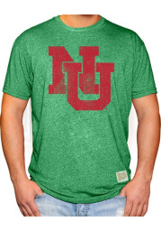 Original Retro Brand Nebraska Cornhuskers Green Distressed Short Sleeve Fashion T Shirt