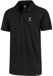 47 K-State Wildcats Mens Black Flatiron Short Sleeve Polo