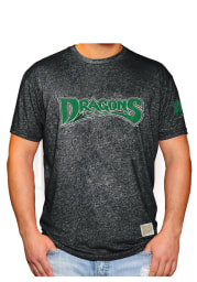Original Retro Brand Dayton Dragons Mens Black Minor League Short Sleeve Fashion T Shirt