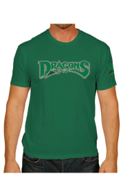 Original Retro Brand Dayton Dragons Green Vintage 2 Hit Short Sleeve Fashion T Shirt