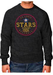 Original Retro Brand St Louis Stars Mens Black Raglan Crew Long Sleeve Fashion Sweatshirt