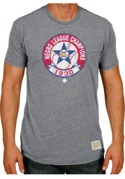 Original Retro Brand St Louis Stars Grey 1930 Champs Short Sleeve Fashion T Shirt