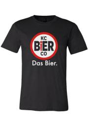 KC Bier Co Black Logo Short Sleeve T Shirt