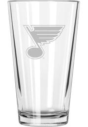 St Louis Blues Etched Pint Glass