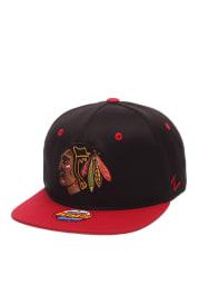 Chicago Blackhawks Black Bambino Youth Snapback Hat