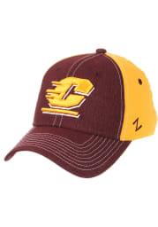 Zephyr Central Michigan Chippewas Mens Maroon Clash Flex Hat