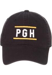 Zephyr Pittsburgh Scholarship Adjustable Hat - Black