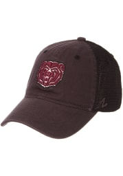 Zephyr Missouri State Bears Raven Meshback Adjustable Hat - Charcoal