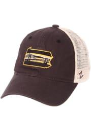 Zephyr Pittsburgh State with Bridge University Adjustable Hat - Charcoal