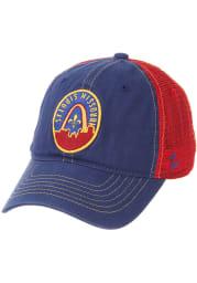 Zephyr St Louis Arch Skyline University Adjustable Hat - Blue