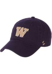 Washington Huskies Scholarship Adjustable Hat - Purple