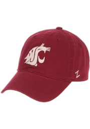 Washington State Cougars Scholarship Adjustable Hat - Cardinal