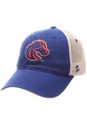 Boise State Broncos University Meshback Adjustable Hat - Blue